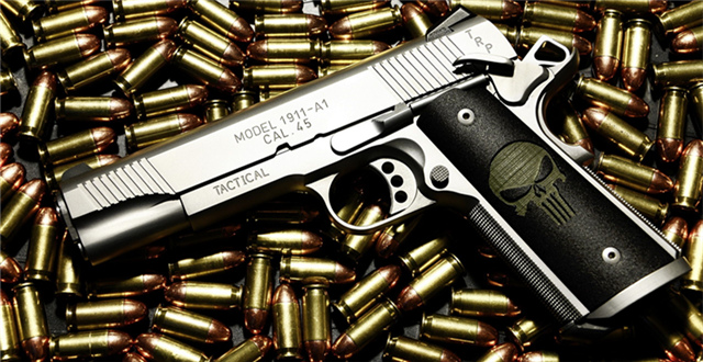 世界各国(地区)民用枪支持有率排行:美国平均每100人拥有120把小型枪械