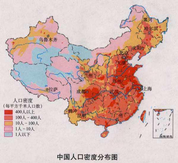 2019年最新全国各省常驻人口数量排名:全国人口数破14亿,广东、山东人口数破亿