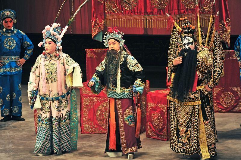 中国戏曲戏剧五大剧种