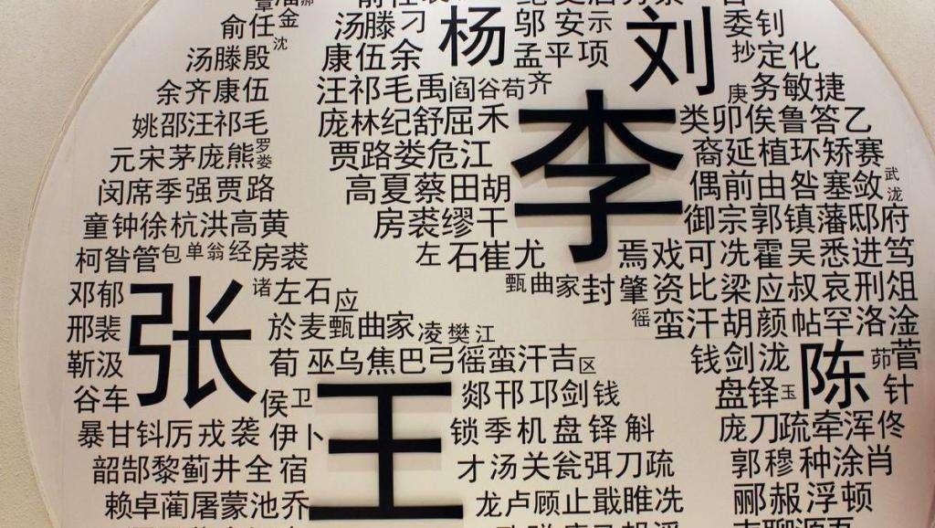 """2019全国姓名报告—中国新""""百家姓""""出炉"""