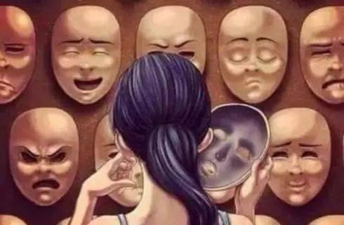 """戴上你的""""人格面具"""",呈现一个真正的你"""